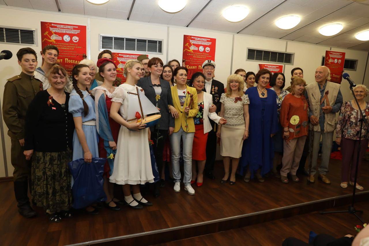 Благотворительная акция ко Дню Победы в телецентре «Останкино»
